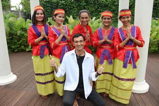 with BATAK GIRLS