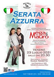 """Cena-Concerto """"Serata Azzurra"""""""