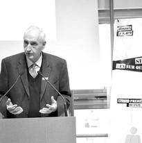 Le préfet de la région d'Île-de-France, préfet de Paris, Michel Cadot, présentant le projet Quinze Pourcent