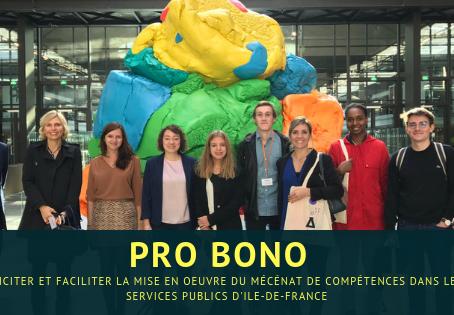 Le projet Pro Bono se concrétise !