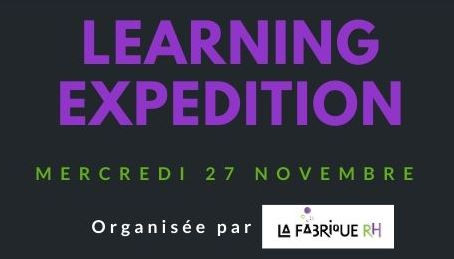 Participez à notre learning expedition !