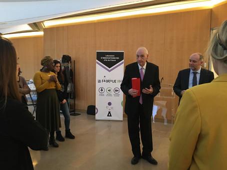 """Michel Cadot félicite les participants du projet """"Booste ta fonction publique"""" !"""