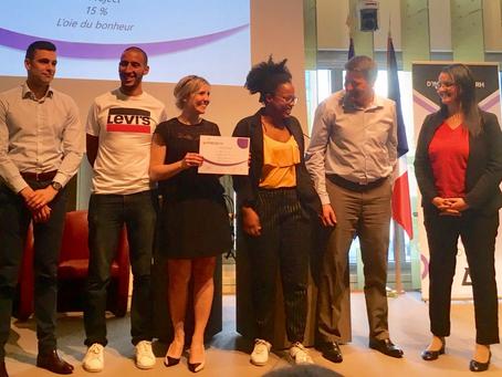 Et les vainqueurs du Hackathon+ sont...