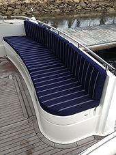 Rhode Island boat cushions and boat seats