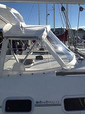Rhode Island marine canvas and boat enclosures