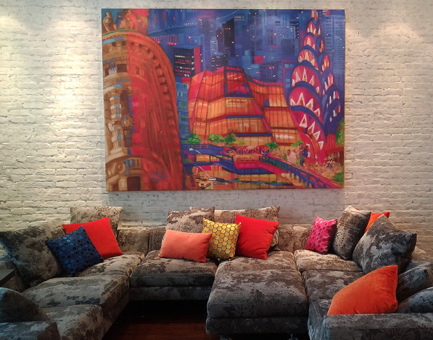Wall Art for NYC lounge area