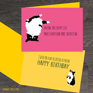 Birthday Card Winner, Best Birthday Card, Illustrator, Birthday Card Illustrator, Card illustrator, Greeting Card illustrator