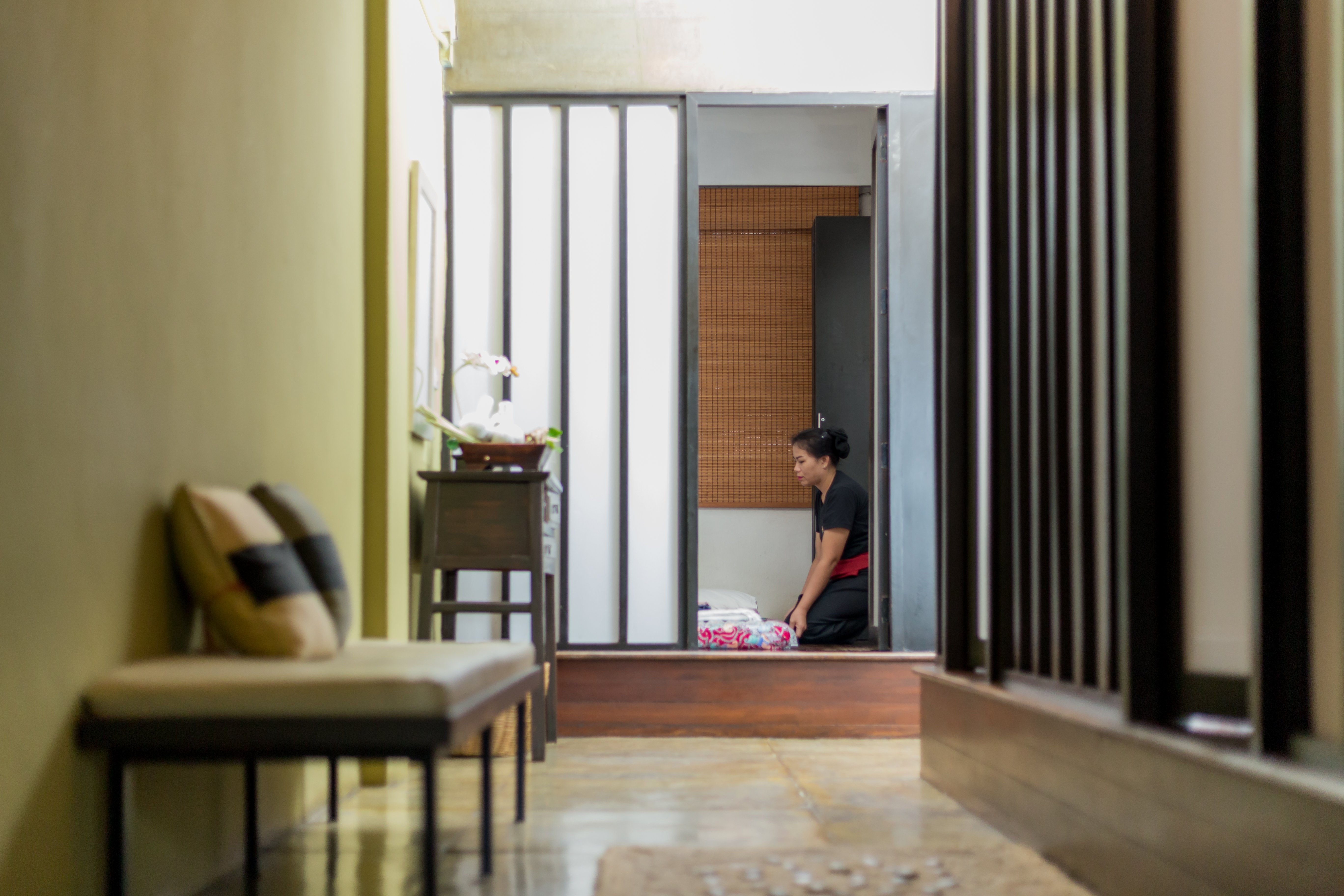 Peaceful Massage and Spa Ambience