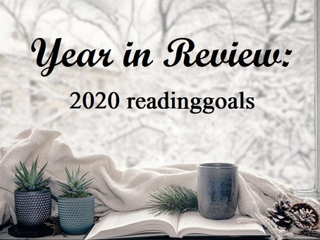 Year in Review: 2020 Reading Goals