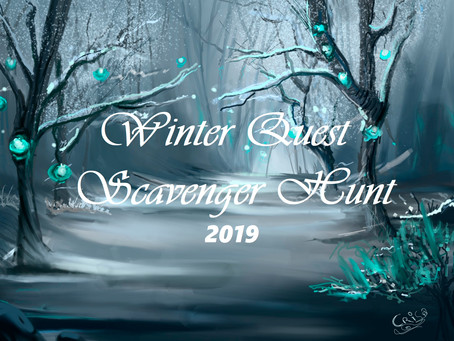 Bookie Trials - Winter Quest Booktag