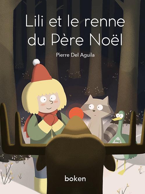 Lili et le renne du Père Noël