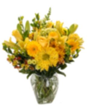monochromatic flower in clear vase.jpeg