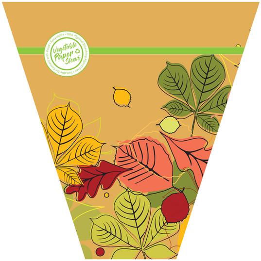 Fall veg paper sleeve