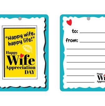 Wife Appreciation Card