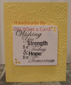 Strength & Hope - Yellow
