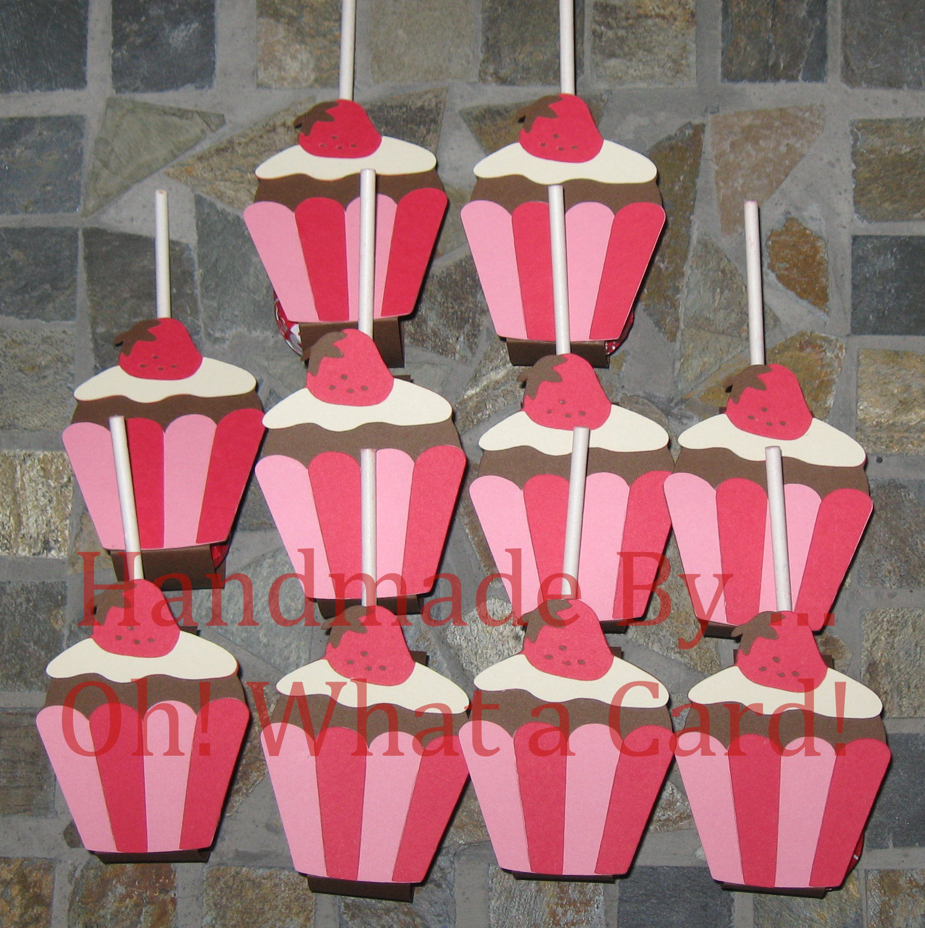 Cupcake Lollipop Wraps