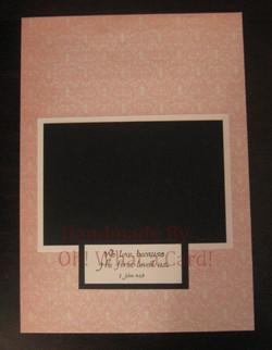 Pink Doillie Frame Insert IMG_6964