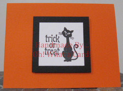 Trick or Treat Kitty Card