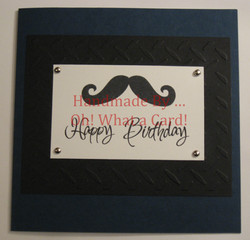 Gentleman's Birthday Card