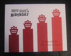 Gift Podium - Red Card