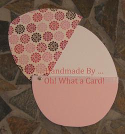 Flowery Easter Egg Card