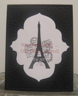 Eiffel Elegance - Black