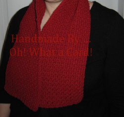 Red Collar Scarf