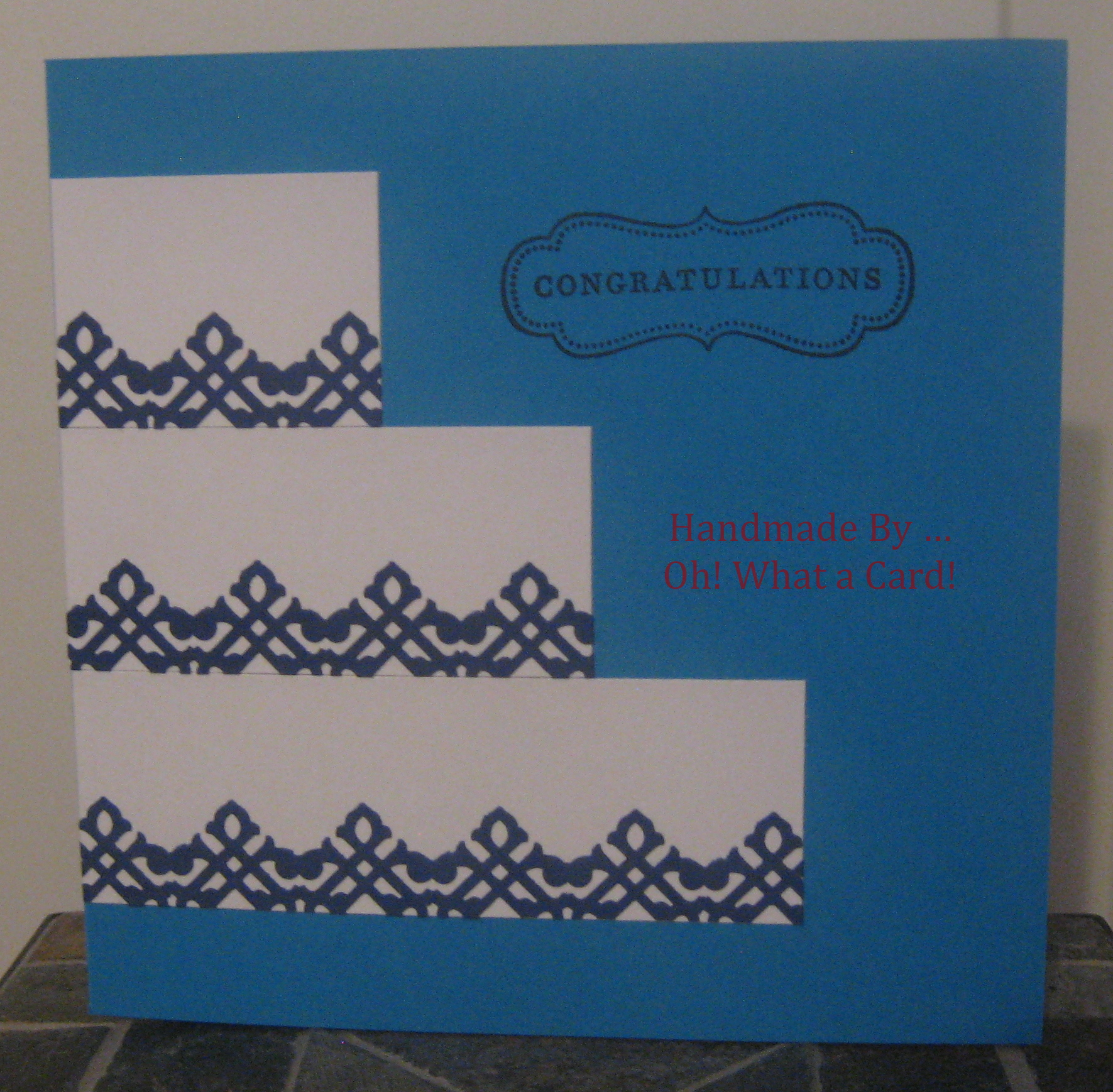 CongratuCAKEtions - Blue