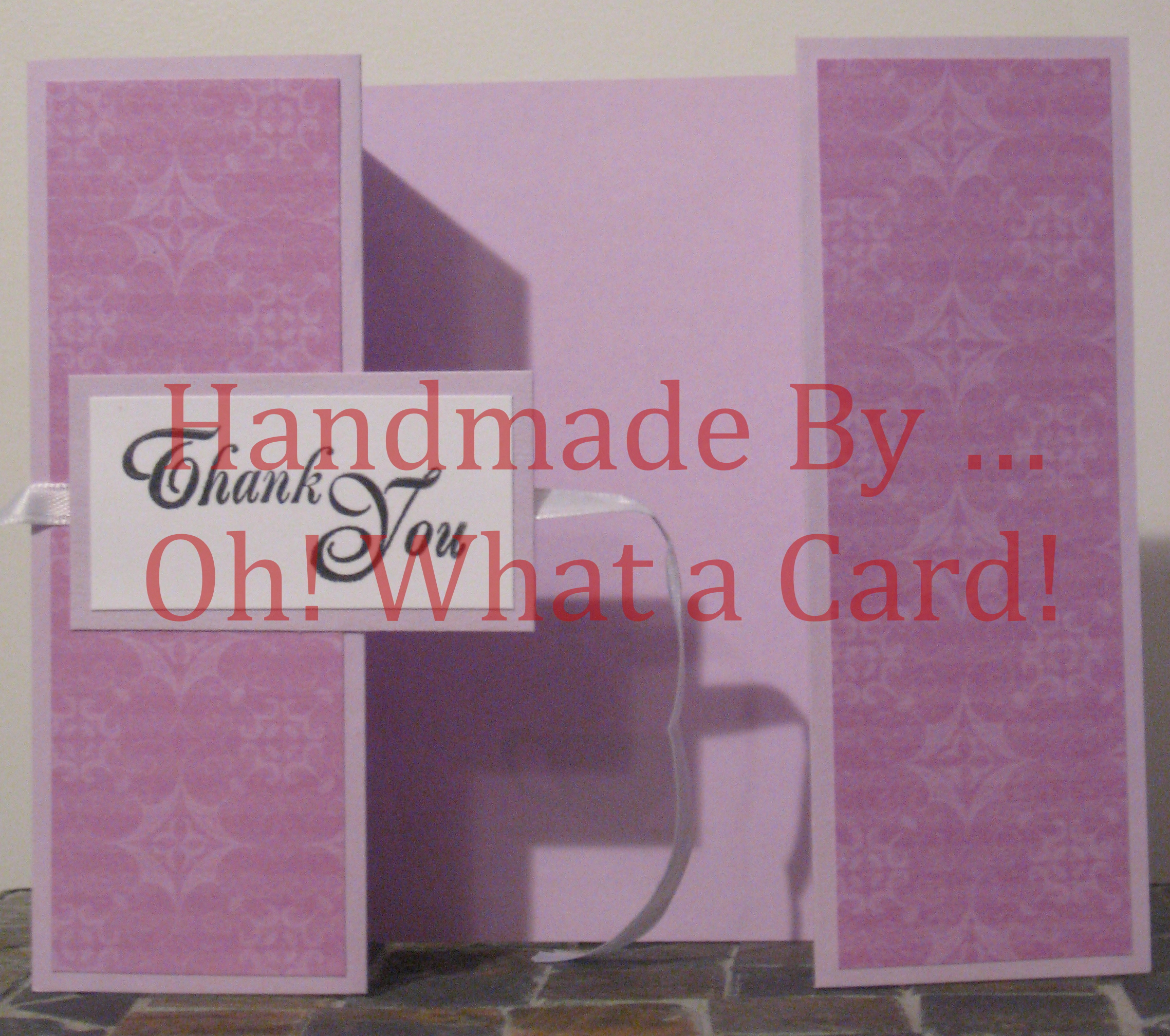 Diamond T.Y. Shutter-Fold Card
