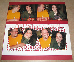 Oh! What a Card! | Scrapbooking | Couple | Page | Greeting Cards | Gifts | Handmade | Chilliwack | BC | Canada