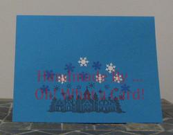 Town Snowfall Card