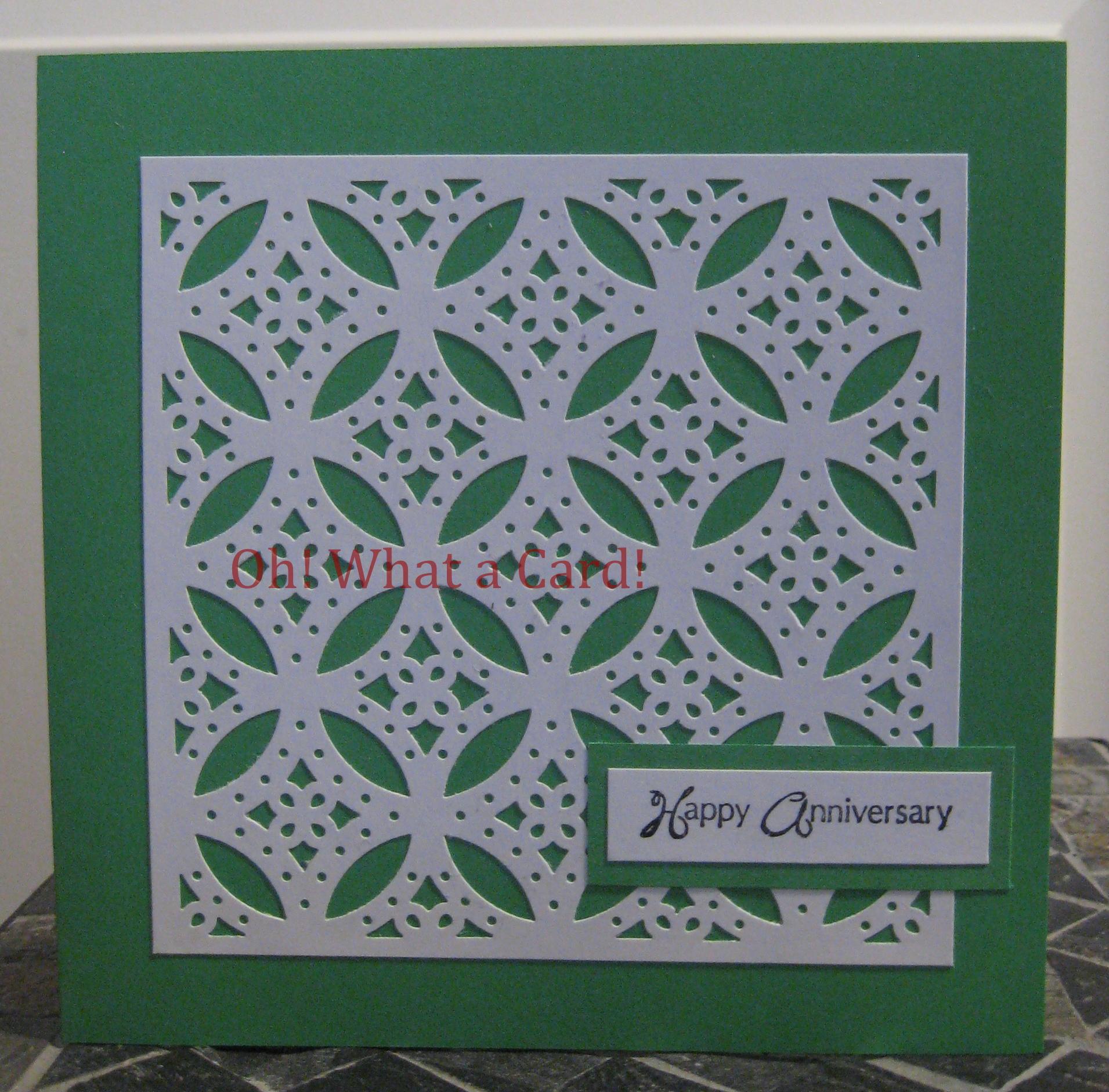 Anniversary Diamonds - Green