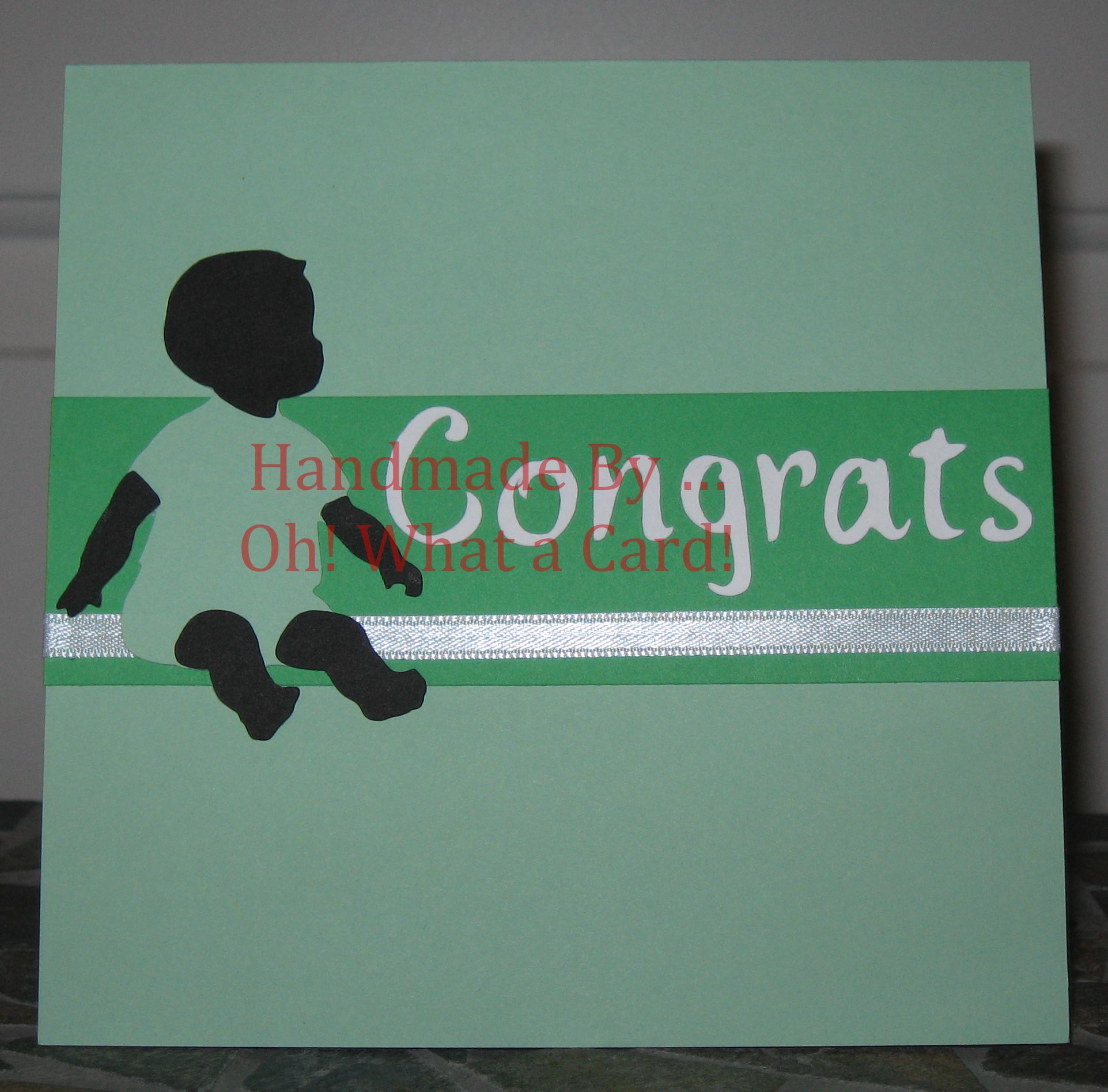 Baby - Congrats - Green