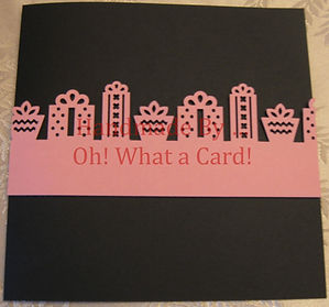 Scrapbook | Page | Gifts | Oh! What a Card | Chilliwack | BC | Canada