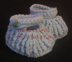 Blue Boots - Newborn to 3 Months