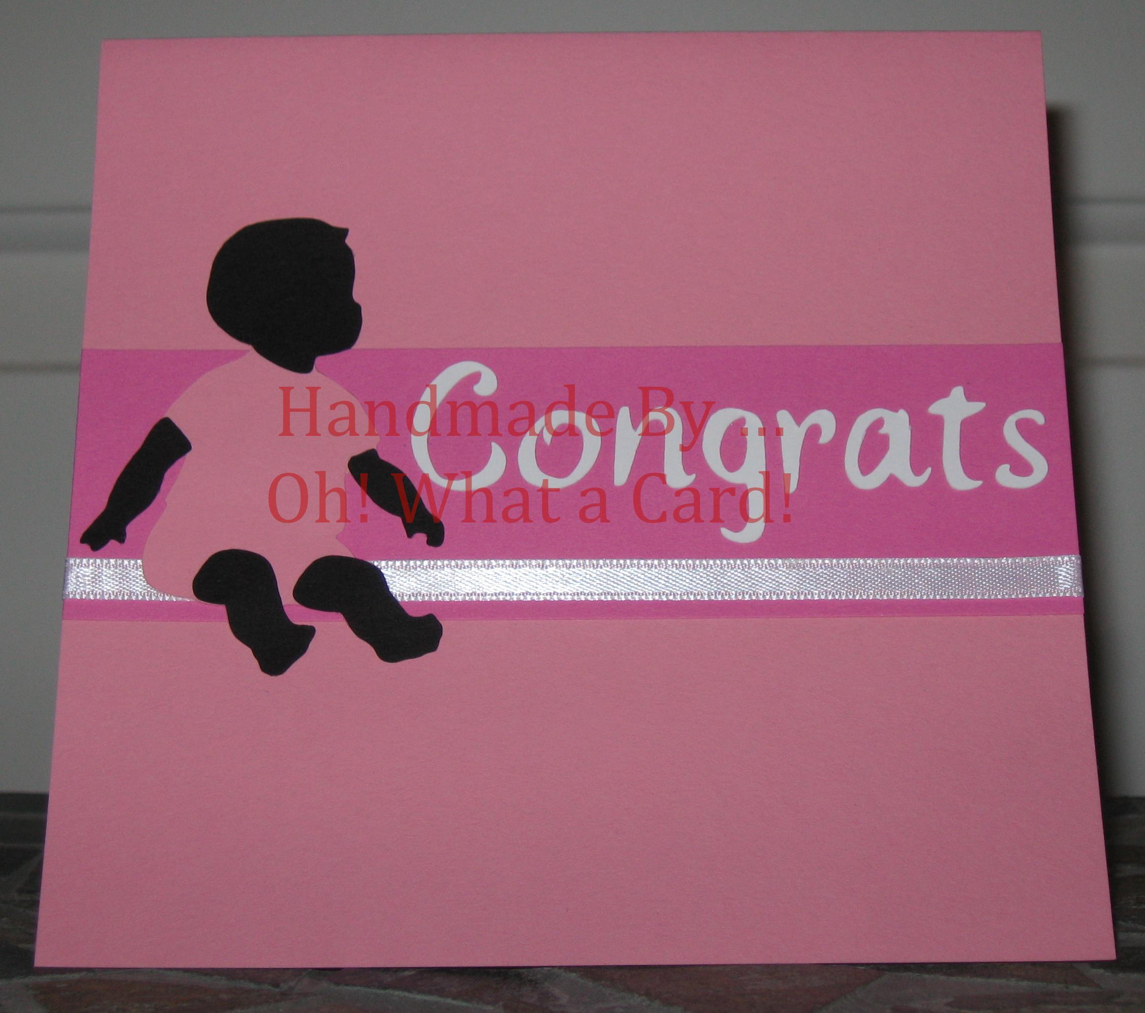 Baby - Congrats - Pink