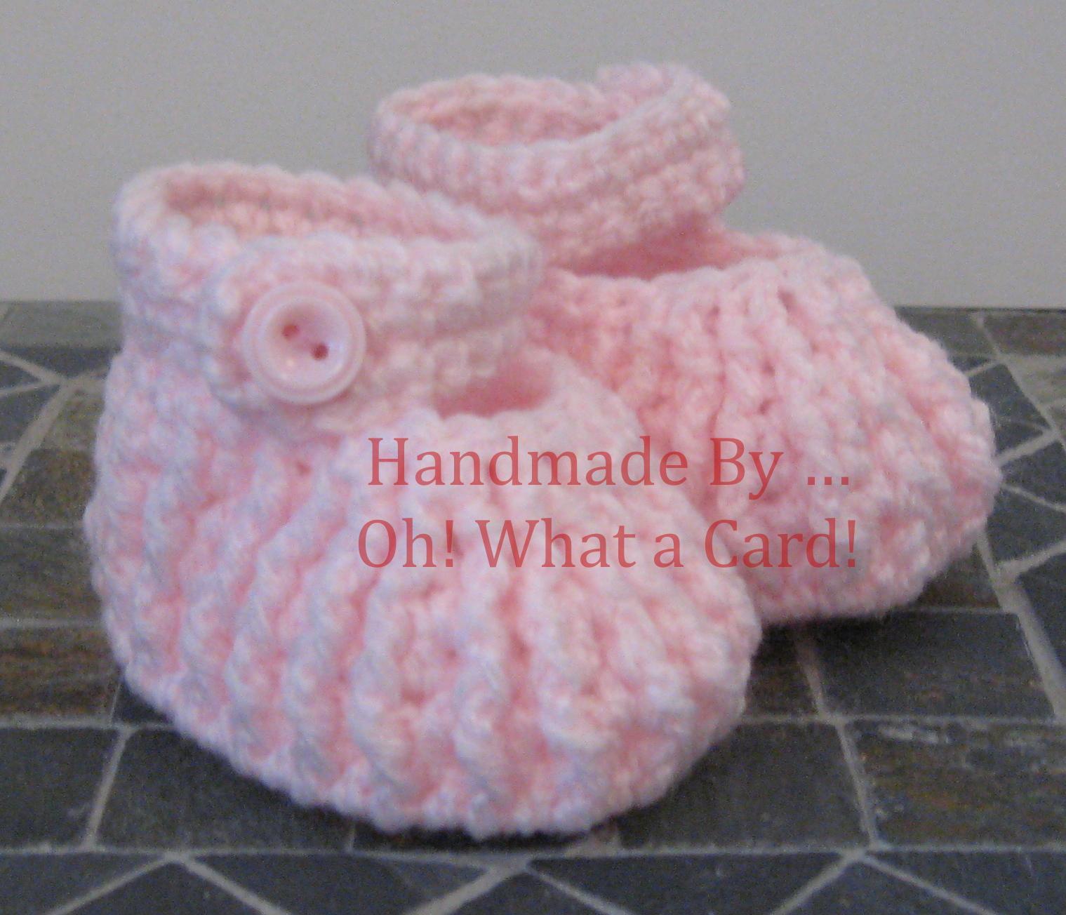 Pink Boots - Newborn to 3 Months