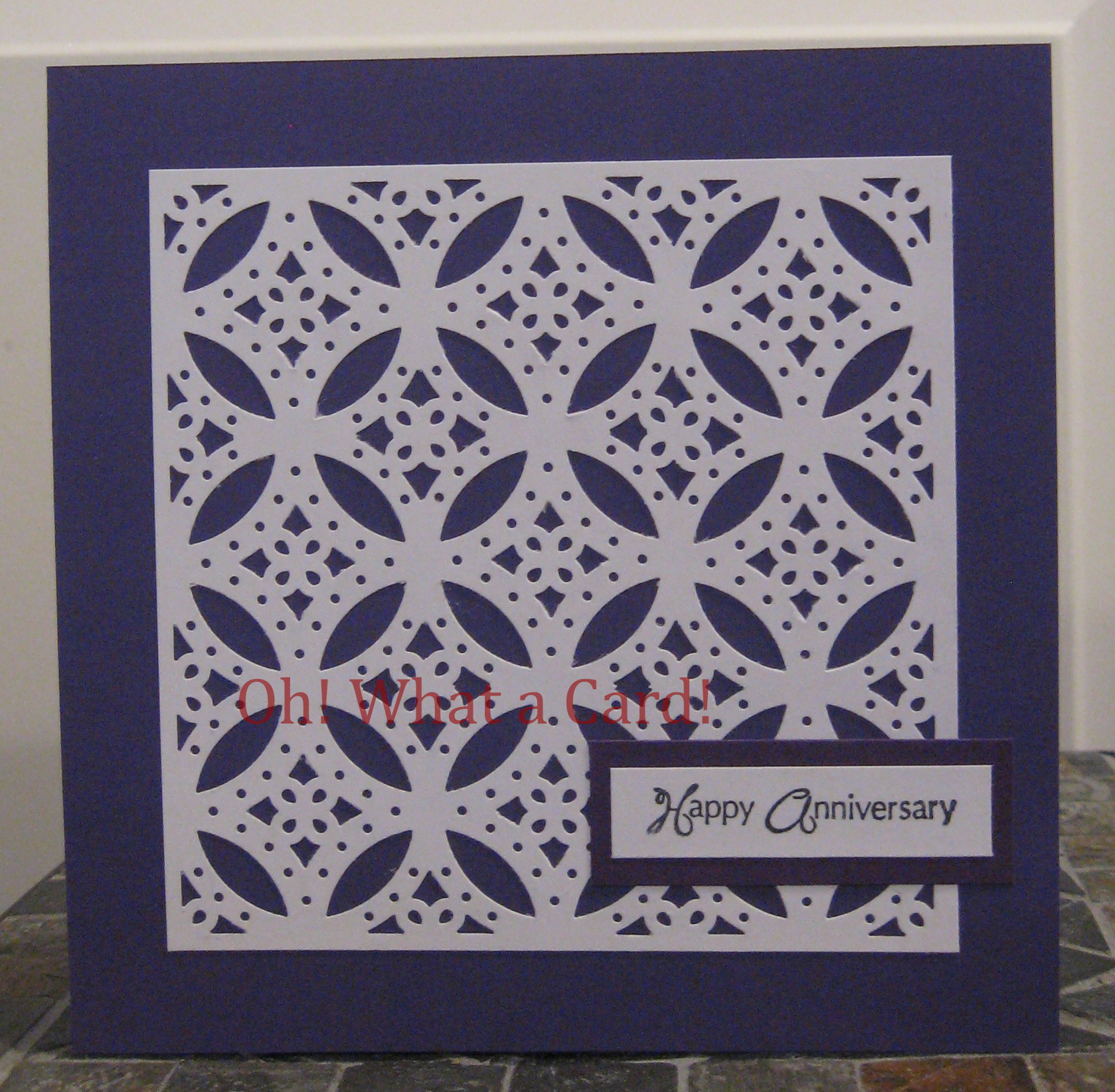 Anniversary Diamonds - Purple