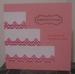 CongratuCAKEtions - Pink