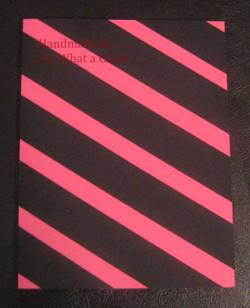 Sensational Stripes - Pink Card