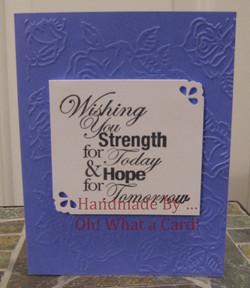 Strength & Hope - Purple