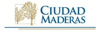 Logotipo Ciudad Maderas