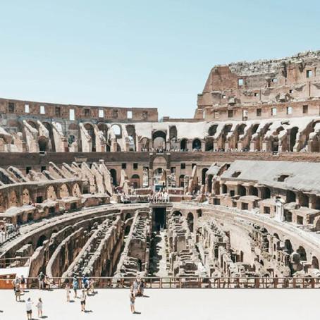โรมเตรียมสร้างพื้นให้โคลอสเซียม เลียนแบบเทคโนโลยีที่เคยมีครั้งโบราณ