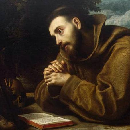 """""""ในการให้นั้นเองที่เราจะได้รับ"""" Francis of Assisi"""