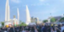 message clouds thailand democracy movement