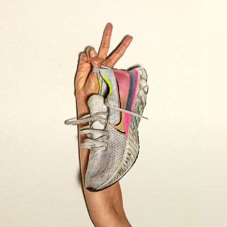 วิ่ง กับรองเท้าป้องกันบาดเจ็บ