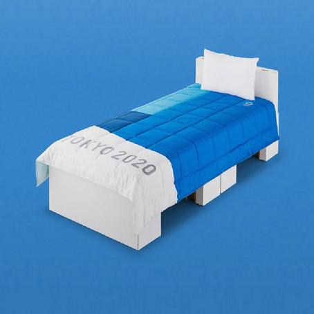 เตียงกระดาษลังใน Tokyo 2020