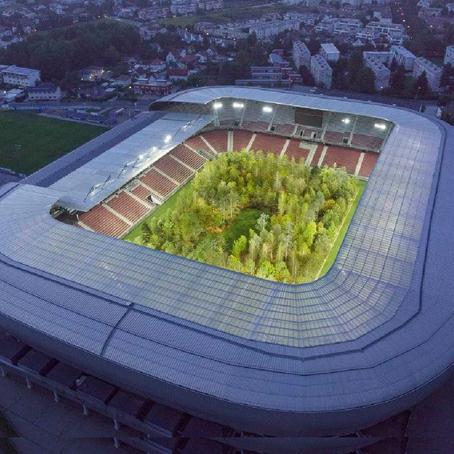 เปลี่ยนสนามกีฬาเป็นป่า