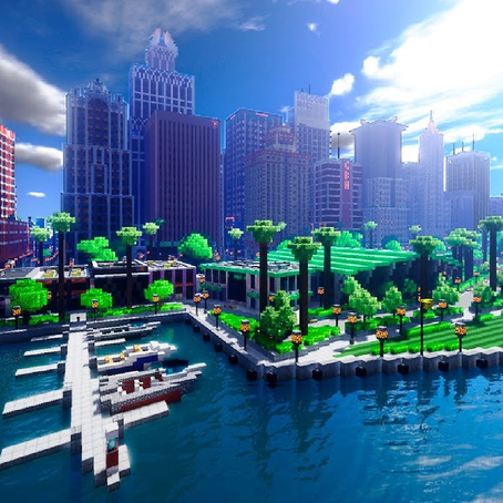 สร้างเมืองเท่าเทียมด้วย Minecraft