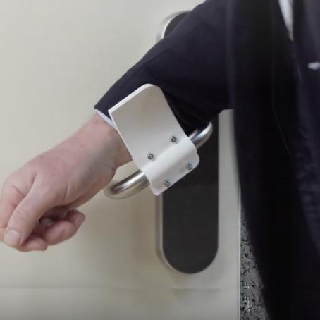 แจกไฟล์ 3D เลี่ยงการจับก้านประตู